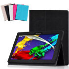 "Fashion Flip Folio Leather Case Cover Stand For 10.1""Lenovo Tab 2 A10-70F Tablet"