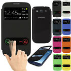 Leather Slim Smart Flip Case Battery Cover For Samsung Galaxy S3 I9300 SIII