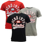 Mens Ecko T-Shirts Short Sleeve Designer T Shirt 'Sprinter'