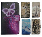 For LG High-level PU Leather Phone Case Cover Skin Printed butterfly