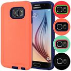 Shell Armor Hybrid Shockproof TPU Thin Hard Case Cover For Samsung Galaxy S6 VI
