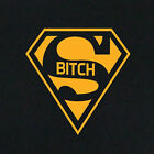 New Women's Ladies T-shirt Tee Super Bitch Costume Gifts For Her Wife Sister