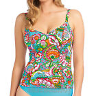 Freya Swimwear Dreamer Underwired Plunge Tankini Top Azure NEW 3637 Select Size