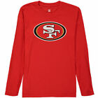San Francisco 49ers Youth Team Logo Long Sleeve T-Shirt - Red