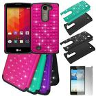 Phone Case For AT&T LG Escape 2 H443 Crystal Rugged Cover with Screen Protector