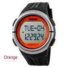 Multi Function LED Heart Rate Monitor Pulse Pedometer Counter Sport Quartz Watch