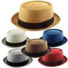 HEISENBERG - BREAKING BAD - PORKPIE Trilby Fedora Hessian Pork Pie Hat Band