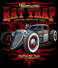 Rat Trap Hot Rod Rat Rod Rust Vintage Iron Sleeveless T Shirt