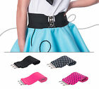 "Hip Hop 50s Shop 3"" Child Cinch Belt Poodle Skirt Costume Dance Party Accessory"