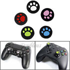 4 Cat Paw Analog Silicone Joystick Thumbstick Grips Caps For PS4 PS3 Xbox 360