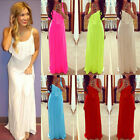 Lady Long Maxi Summer Beach Party Backless Sundress Womens Sexy Casual Dress