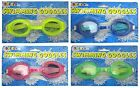 Kids SWIMMING GOGGLES (Ages 3+ Boys/Girls) Eye Protection (4 Colours) Swim/Pool