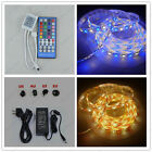 12V 5M RGBW & RGBWW IP65 Waterproof 5050 300 LEDS Strip + Controller + 5A Power