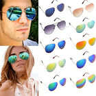 Unisex Vintage Retro Women Men Fashion Glasses Aviator Mirror Lens Sunglasses