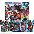 Disney Marvel Avengers Super Heroes Birthday Greeting Card Comic Book 9 10 11