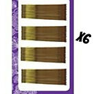 U Pick Quantity: 40 Piece Cards BOB PINS 1032 Bronze Hair Bobby Pin Large 2 1/2""