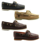 Timberland Classic 2 Eye Mens Boat Shoes Casual Summer Low Top