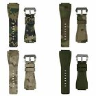 24mm INFANTRY Tactical Army Sport Camo Nylon Canvas Fabric Watch Band Straps