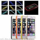 LED Flash Light UP Remind TPU Incoming Call Cover Case For iPhone 6/6 Plus 5/5S