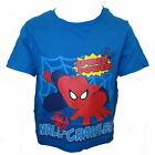 Spiderman Boy's T-shirt Ages 18 Months - 8 Years Available