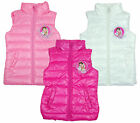 Girls Official Disney Violetta Summer Padded Bodywarmer Gilet 6 to 12 Years NEW
