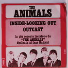 ANIMALS: Inside-looking Out / Outcast 45 (repro, PS, red vinyl, sm corner bend)