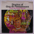 CLAIRE BLOOM: Stories Of Guy Maupassant LP (partial shrink, small toc, slight c