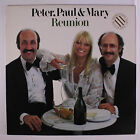 PETER, PAUL & MARY: Reunion LP (promo stamp oc, inner sleeve) Folk