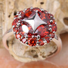 Remarkable Red Garnet GEMSTONES Silver Jewelry Ring Size6 /7 /8 /9 T7015