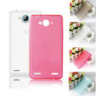 High Quality Protective Soft Silicone Cover Case Skin For ZTE V5 Smartphone
