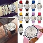 Women Lady Leather Watch Who Cares I am Late Anyway Letter Quartz Watches Trendy