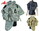 Tactical Military Airsoft Paintball Molle Plate Carrier Combat Vest w/ Mag Pouch