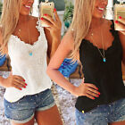 Women Summer Casual Loose Vest Camisole Shirt Tops Blouse Womens Top Tank