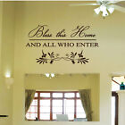 Home Quotes Lettering Window Wall Stickers/Wall Decals