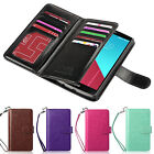 For LG G4 Luxury Magnetic Flip PU Leather Skin With Card Slots Cover Case Wallet
