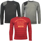 Puma Striped/F.core Crew Neck Mens Assorted Sweatshirts Pullovers Jumpers