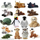 "Aurora Mini Flopsie 8"" Inches Soft Toy Chimp Owl Giraffe Meerkat Donkey Goat ..."