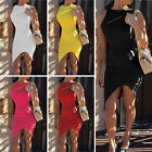 New Women Summer Casual Office Lady Party Evening Cocktail Midi Dress Size 6-12