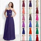 Sweetheart Bridesmaids Dresses Long Evening Prom Gown Women's Dress Size 6-26