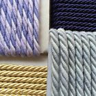UPHOLSTERY/ FURNISHING CORD 7MM WIDE PER METRE- VARIETY OF COLOURS AVAILABLE