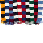 Craft Hobby Knitted Scarf Kit Premier League Football DK Knitting Pattern & Wool
