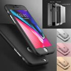 New ShockProof 360 Hybrid Bumper Case Cover for Apple iPhone X 8 7 6S Plus
