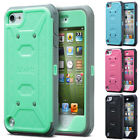 ULAK Knox Armor Rubber High Impact Hard Case Hybrid Cover for iPod Touch 5 5th
