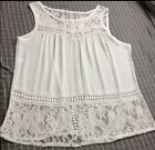 Sexy Fashion Womens Lace Vest Top Sleeveless Blouse Casual Tank T Shirt 2015