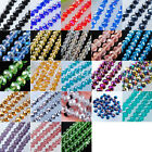 Free shipping Czech Crystal Faceted Loose Beads Making 4x6MM 5x8MM 7x10MM SBA003