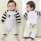 Embroidery Newborn Baby Clothes Romper Jumpsuit Sleepsuits Outwear One-Pieces