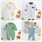 Spring Animal Newborn Baby Cotton  Clothes Romper Jumpsuit Sleepsuits Outwear