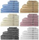 Ideal Textiles®, 100% EGYPTIAN COTTON 8 PIECE BALE SET BUNDLE 500GSM TOWELS