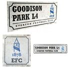 EVERTON  RETRO METAL SIGNS ( Door Sign, Street Sign)Official Club Merchandise