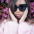 Vintage Retro My Girl Miss Audrey  Wayfarer Sunglasses Women